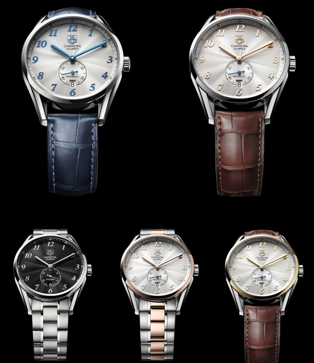tag heuer carrera heritage watches