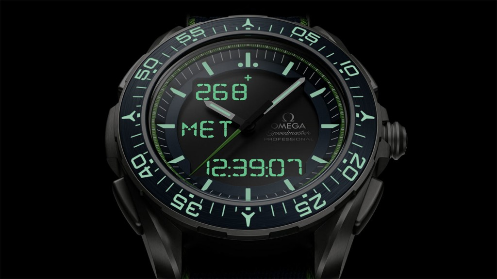 Omega Speedmaster Replica Watches With Black and Blue Dials
